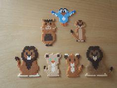 Lion King perler beads