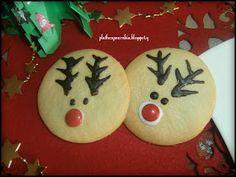 ΠΛΑΘΩ ΖΥΜΑΡΑΚΙΑ ΜΕ ΤΑ ΔΥΟ ΧΕΡΑΚΙΑ ..: ΜΠΙΣΚΟΤΑ ΒΟΥΤΥΡΟΥ ΡΟΥΝΤΟΛΦ Christmas Diy, Cookies, Breakfast, Desserts, Blog, Crack Crackers, Postres, Christmas Makes, Biscuits