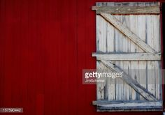 Stock Photo : Barn Door