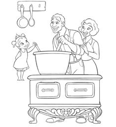 tiana colouring pages all under the cut or you can download the whole - Fill In Coloring Pages