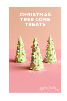 I like these more than gingerbread houses for kids to make. Cone Trees, Cone Christmas Trees, Christmas Holidays, Christmas Crafts, Christmas Ideas, Show Me The Money, Custom Woodworking, Favorite Holiday, Chicken Houses