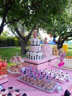 In cucina mi rilasso: Doppia torta e buffet di compleanno: Barbie Glam