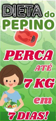 Dieta do pepino 7 dias e até 7 quilos a menos! Dietas Detox, Detox Plan, Veg Recipes, Detox Recipes, Perder 10 Kg, Detox Organics, Weight Loss Inspiration, Low Carb Diet, Planer