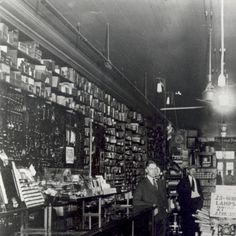 "Interior of William P. Kutsche's hardware store, known as ""The Tool Store"". Located at 328 Monroe Ave NW, Grand Rapids"