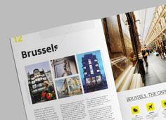 This is Flanders - Brochure by Tim Bisschop, via Behance