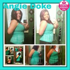 Angie says - Update.... I started Oct 20th and to date I have lost 38 pounds and 34 plus inches!!! I love my plexus!!!