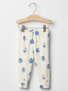 Organic fruit banded pants
