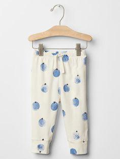 Organic fruit banded pants
