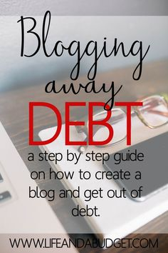 Do you want to use your writing talents online in a way that will help you get out of debt? If so, check out this  step by step guide on how you can begin blogging away debt.