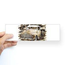 Classic Chevrolet Pick-up Truck Bumper Bumper Sticker