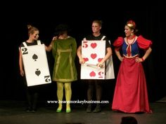 Playing card costumes in alice in wonderland 2007 tim burton halloween costumes, alice costume, Tim Burton Halloween Costumes, Alice Costume, Halloween 2015, Costume Halloween, Casino Party Decorations, Casino Theme Parties, Party Themes, Party Ideas, Casino Costumes