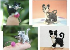 How To Make A Micro Crochet Kitten