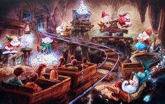 Closer Look: Seven Dwarfs Mine Train explored in detail with Imagineer interview, character fun at Walt Disney World