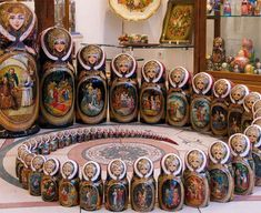 Russian Matriochka ... I tried to count these....I like this set