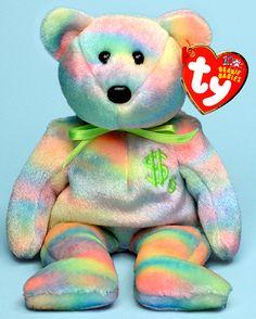 Billionaire 6 - bear - Ty Beanie Babies