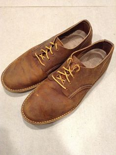 633875aeff Red Wing Men s Size 7 Light Brown Heritage Weekender Oxford Shoes