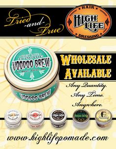 High Life Products - Now brought to you by Dax Hair Care!  http://www.highlifepomade.com
