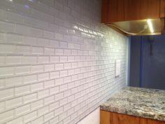 Backsplash On Pinterest Grout Glass Tiles And Subway Tiles