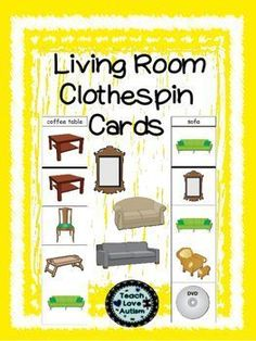 If you are interested in these you might want to check out the whole BUNDLE!! Life Skills Clothespin Cards BUNDLEThese cards are utilized in my classroom in small groups, one on one instruction, and in my work tasks. They help to reinforce life skills that are essential for students to know.