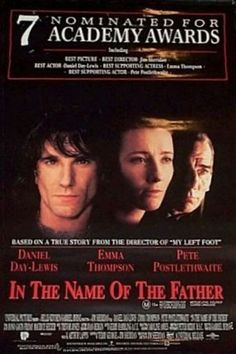 "In the Name of the Father - Daniel Day Lewis doesn't make many bad movies, does he? Shame about what happened in this case. Economics determines a lot about our lives, and generally crappy conditions never did Ireland (or anywhere else) any favors in the ""getting along with your neighbors"" department. When the economy improved, strange how people having a future and something to lose, for once, cured a lot of the Catholic/Protestant/Irish/English troubles. Hmmm, I wonder if there's a…"