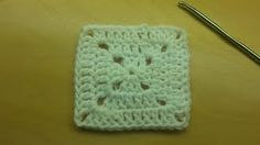how to crochet a granny square - YouTube