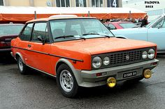 FIAT 131 RACING year 1979 Maintenance/restoration of old/vintage vehicles: the material for new cogs/casters/gears/pads could be cast polyamide which I (Cast polyamide) can produce. My contact: tatjana.alic@windowslive.com