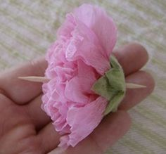 How to Make a Hollyhock Doll