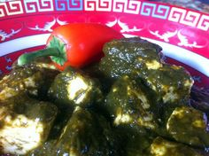 Slow Cooker Palak Paneer   Totally rocks.  I used 2 green chillis and 1 tsp cayenne, and naomi thought it was too spicey.
