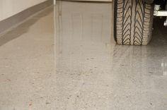 Image result for sealed cement garage floor