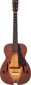 1934 Martin R-18 Sunburst Archtop Acoustic Guitar, Serial # 57602