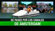 Un paseo por los canales de Ámsterdam