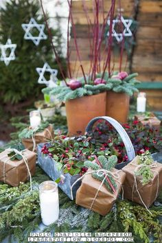 I love this Swedish garden shop blog. The translations are hard to understand, but the pictures are beautiful!