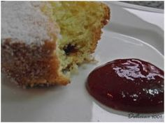 Cupcake de Fubá com goiabada - Delícias 1001