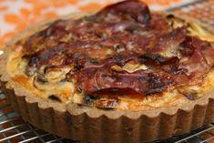 Kruimeldeeg van boekweitmeel (met champignon-preitaart recept) | weltevreten