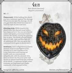 Halloween themed magic items : DnDHomebrew Dnd Dragons, Dungeons And Dragons Memes, Dungeons And Dragons Homebrew, Halloween Village, Halloween Themes, Dnd Funny, Dnd 5e Homebrew, Fantasy Weapons, Tabletop Rpg