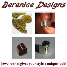 Berenice McKinnis - Owner/Designer - Berenice Designs ~ Jewelry that gives your style a unique look! www.berenicedesigns.etsy.com