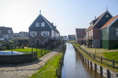 Marken village, waterland - Holanda
