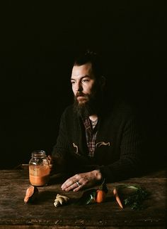 Kinfolk Magazine - J. White by Parker Fitzgerald, via Flickr beautiful portrait would love to do something for our wedding. separate then together.