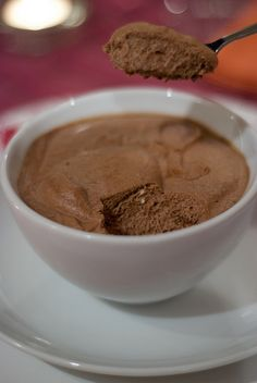 Chocolate coffee mousse #coffee #sweet #rich #chocolate
