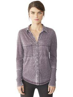 Everyday Burnout Button Up Shirt