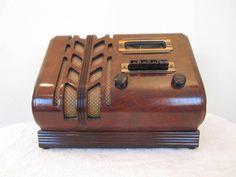 Vintage 1930s Old Stewart Warner Spade Art Deco Streamlined Depression Era Radio | eBay
