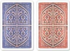 Peter Pauper Press || PERSIAN SPLENDOR PREMIUM PLASTIC PLAYING CARDS (BRIDGE SIZE)   Author: Peter Pauper Press ISBN #: 9781441309297