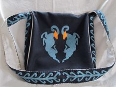 Haversack...maybe for next years Pensic largess we could do nice appliqué bags.