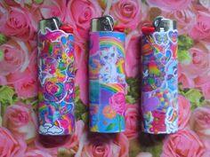 Lisa Frank lighters--grown up Lisa Frank items. Lol.