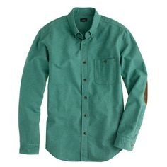 Heathered chamois elbow-patch shirt - A Very Secret Pinterest Sale: 25% off any order at jcrew.com for 48 hours with code SECRET.