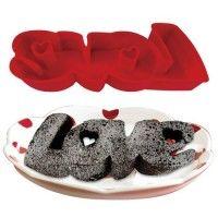 Love Silicone Cake Pan Mold