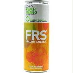 Frs Energy Drink Low Cal Peach Mango