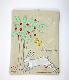 iPad Cover Leaping Hare in the woodland £23.00