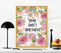 $2.5 Home printable home quote home print home wall by SoulPrintables