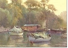 robert brindley paintings | GILLY'S PAINTING HOLIDAY 2